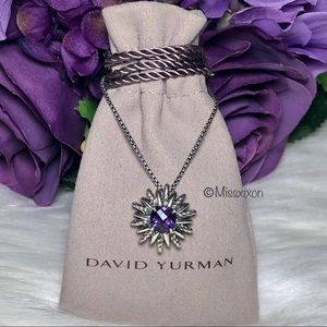❤️David Yurman Amethyst Starburst Necklace